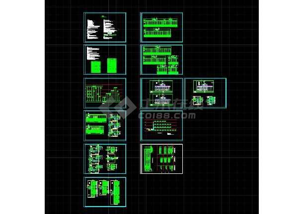 【独家整合】中央厨房照明、弱电、消防、排水、排烟、通风全套设计图(含水、电、暖)-图1