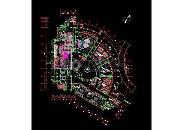 【独家整合】中央厨房照明、弱电、消防、排水、排烟、通风全套设计图(含水、电、暖)-图3