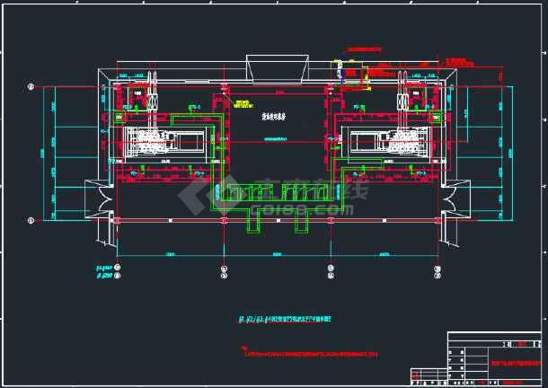 发电机房设计图_柴油发电机房通风设计_柴油发电机房通风设计大全下载_土木在线