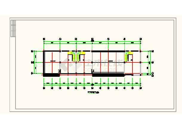某城镇沿街楼建筑平面设计方案详图-图2