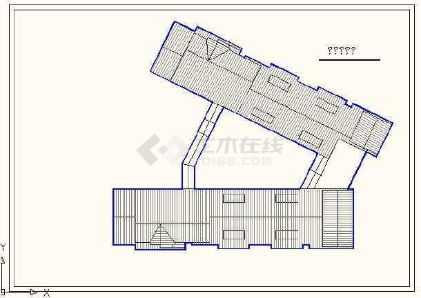 江苏徐州某国际酒店设计方案cad图-图2