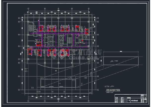 某三星级宾馆消防给排水CAD设计图