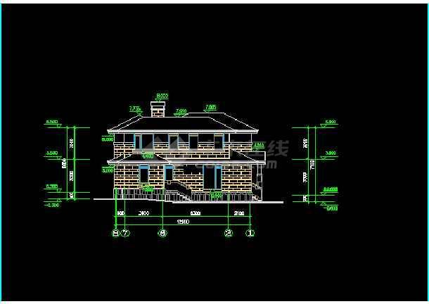 一套简单实用的别墅建筑设计方案图纸