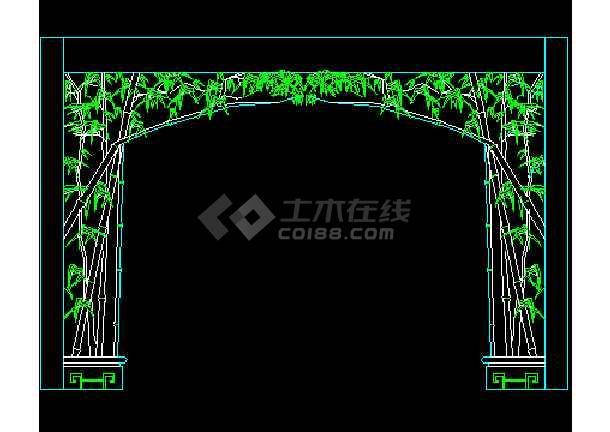 常用图块之隔断CAD室内设计施工图-图2