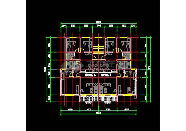 非常实用的百余种户型CAD图纸大整合-图1