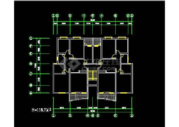 非常实用的百余种户型CAD图纸大整合-图2
