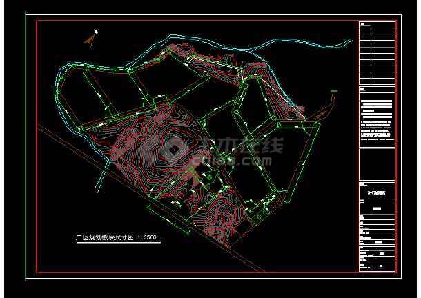 某地集团石材公司钢结构建筑结构CAD图纸-图1