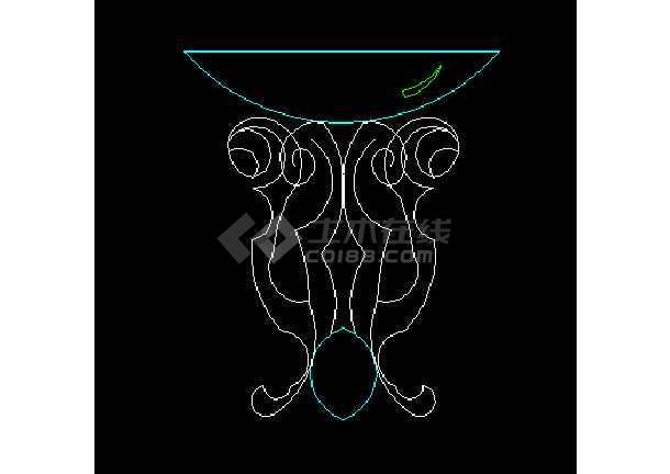 常用图块之灯具 CAD室内设计施工图纸-图2