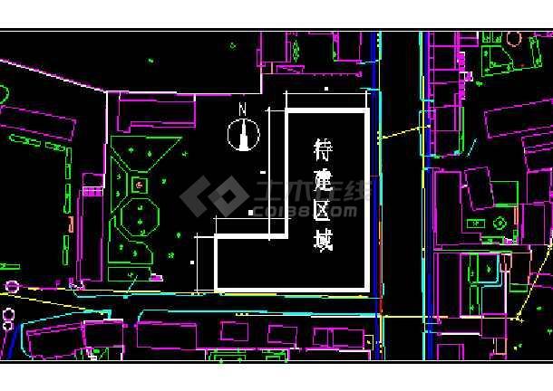 一套简单实用的某宾馆建筑工程施工图纸-图1