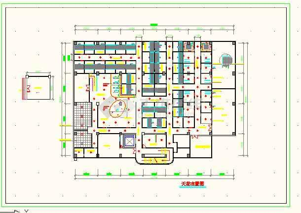 某地休闲中心建筑工程全套cad施工图-图1
