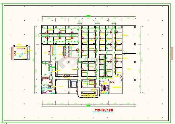 某地休闲中心建筑工程全套cad施工图-图3