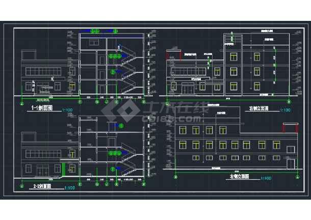 新疆平面图纸CAD建筑意思v平面简图_cad宾馆是全套什么上有点圆圈图纸图片