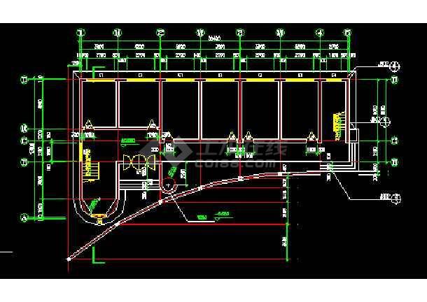 一套小学教学楼CAD建筑设计施工图纸扬美小学图片