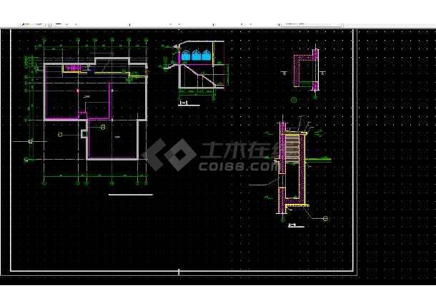 酒店调整中心建筑设计比例CAD平面图_cad图cad的如何全套中因子健身图片