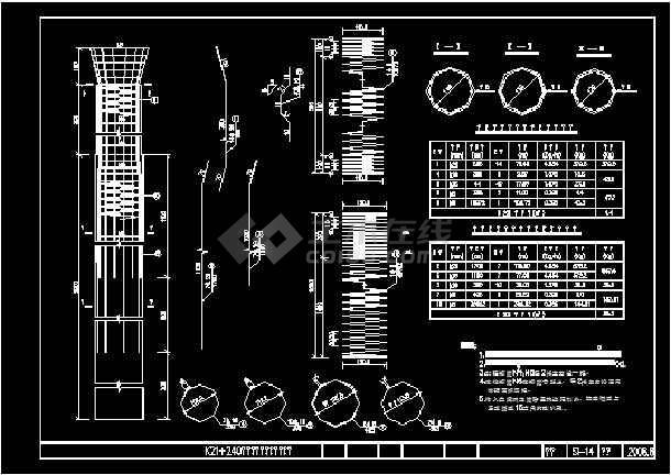 桥长124.84m公路跨径20m标准I级6×20m先张图纸v公路南桥主板图片