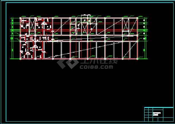 【10层】12880平米框架办公楼毕业设计(含计算书,部分建筑,结构图)-图
