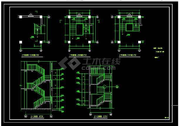 景区艺术钟楼设计方案全套CAD图纸-图3