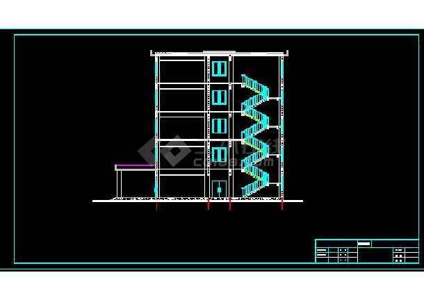 3平米框架办公楼毕业设计(计算书,建筑,结构图,开题报告)
