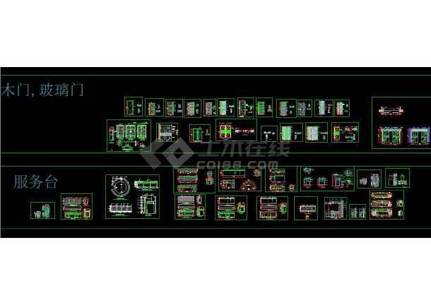 150多套CAD装修施工节点图(全套)-图1