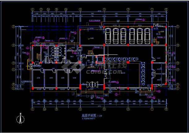 比较齐全的一套多层办公楼建筑图纸-图1