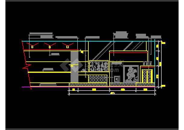 近百套室内客厅装修设计的完整cadv客厅图纸三峡水电站图纸图片