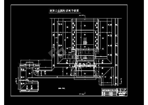 康平县朝阳工业园北侧防洪闸工程设计图-图1