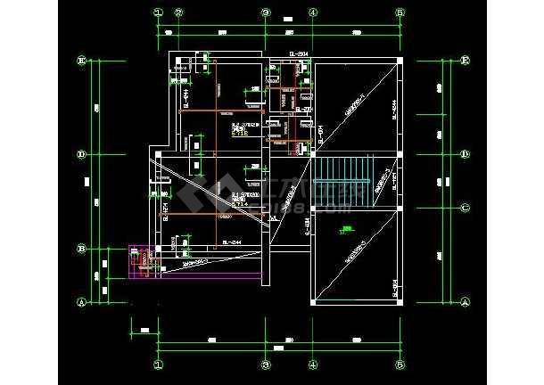 某市小住宅建筑设计施工图(全套)-图2