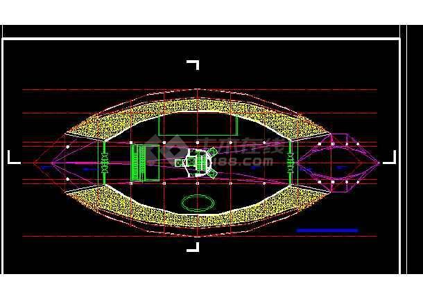 观光塔设计方案与施工全套CAD图纸-图3