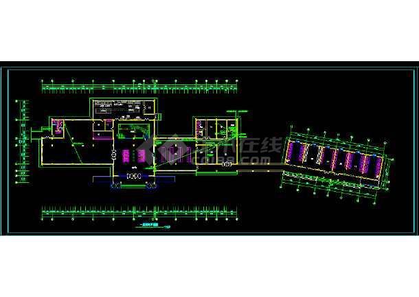 某服务楼电气施工图(含设计说明)-图1