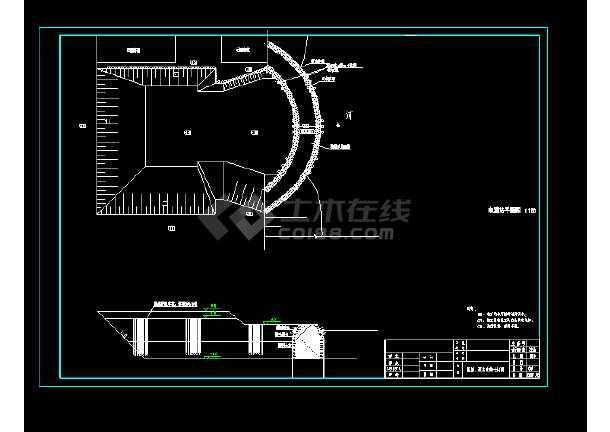 某地小型电灌站电气设计图(全套)-图1