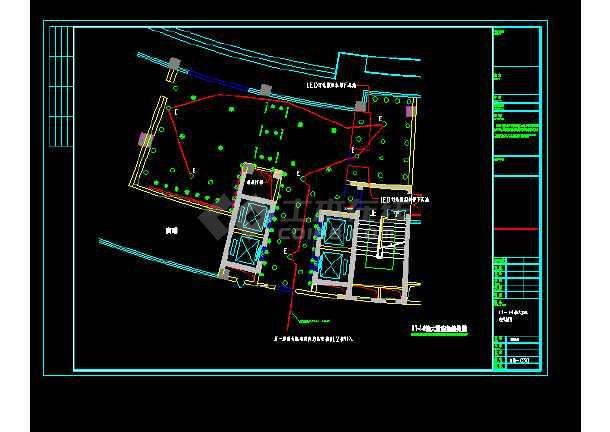 某办公大楼公共部分电气图纸(含设计说明)-图2
