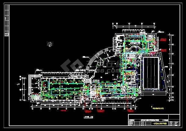 某地质工程设计研究院综合服务楼水系统给排水图-图2