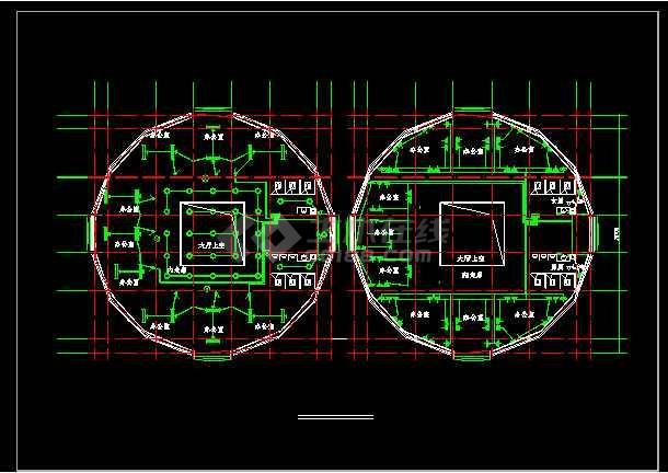 比较详细的一套三层办公楼电气设计图(含设计说明)-图2
