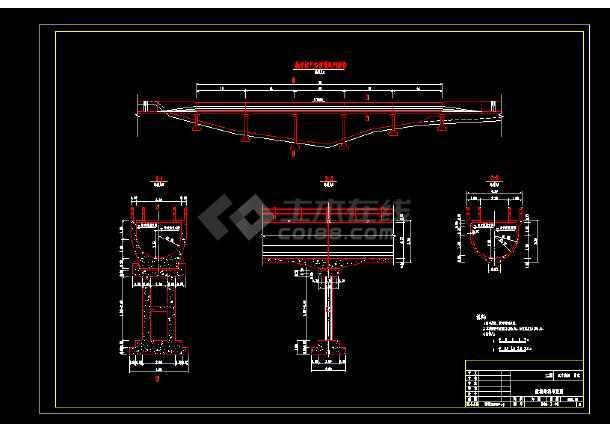 某地小型渡槽投标电气图纸(共1张)-图1