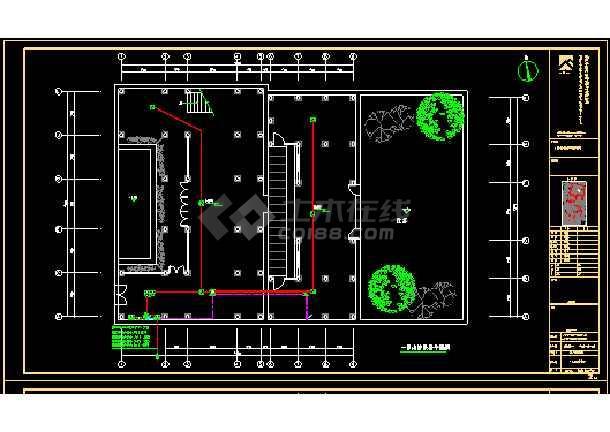 亭街以北修缮整治及设施改造工程--电气-图1