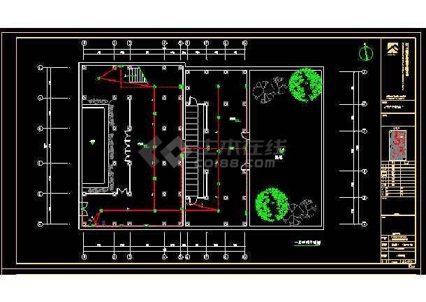 亭街以北修缮整治及设施改造工程--电气-图2