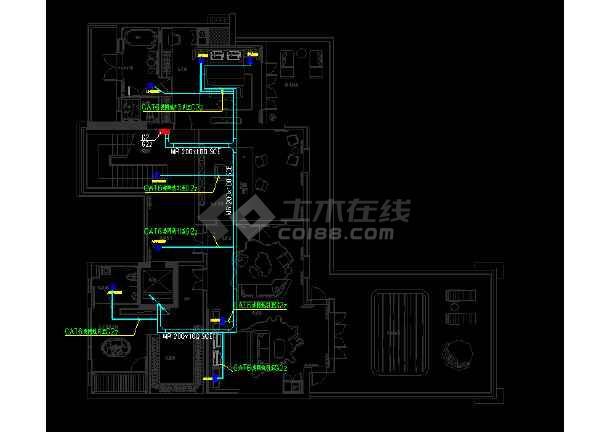 香港浅水湾某豪宅智能家居集成图纸-图3