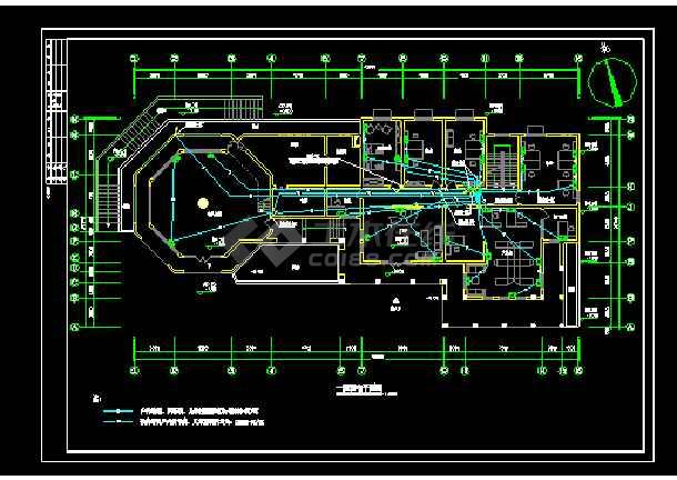 某地大型会所配电电气图纸(含设计说明)-图2
