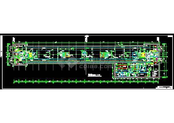 一套实用的地铁站站台及站厅层设计图纸-图2