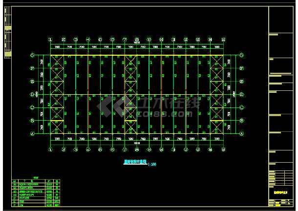 英良石材工程CAD建筑图(含设计说明)-图1