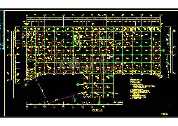 医院门诊及住院楼建筑施工图(共22张)-图1