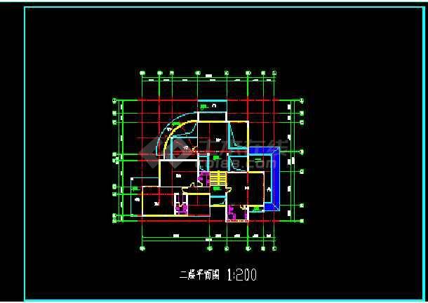 状态图纸、效果图、3DMAX模型详情CAD图纸d别墅图纸图片