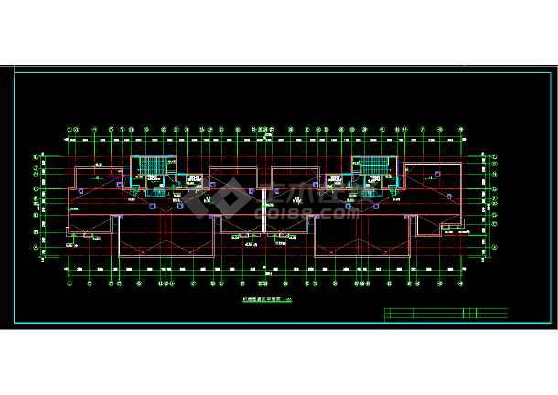 【整合】11套住宅楼采暖设计图纸-图3