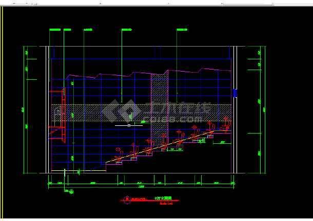 大型电影院建筑施工CAD设计图纸-图2