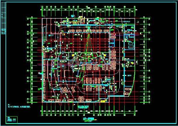 影剧院建筑设计CAD方案施工图纸-图2