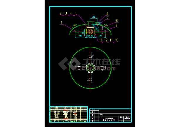 DN1800活性炭过滤器制造图-图3