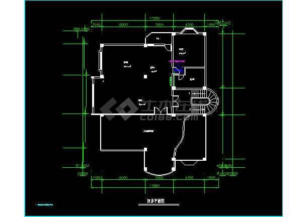 某高级别墅MRV空调cad施工设计方案图纸-图3