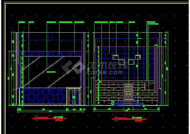国际电影院全套建筑施工cad设计方案图纸-图2