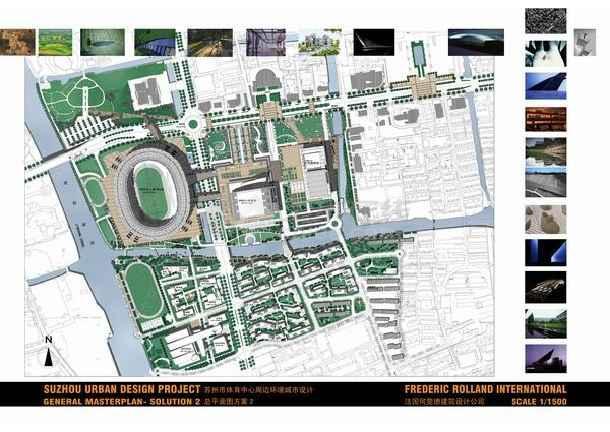2010苏州某体育馆建筑CAD图纸设计施工图纸水电国标全套图片
