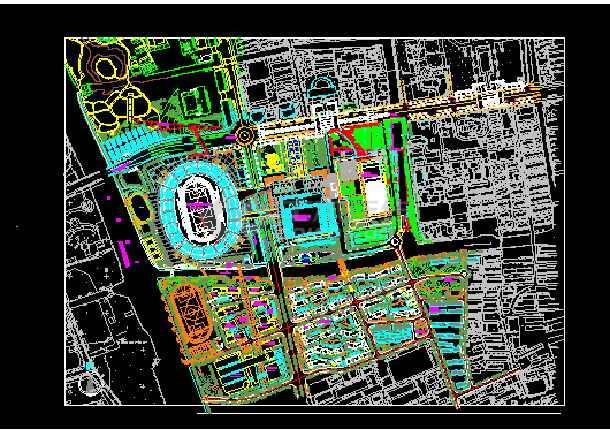 2010苏州某体育馆可以CAD个人设计施工图纸全套是吗建筑图纸一和审核批准图片